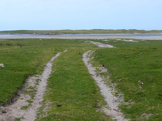 Track to Tràigh nam Bàrc