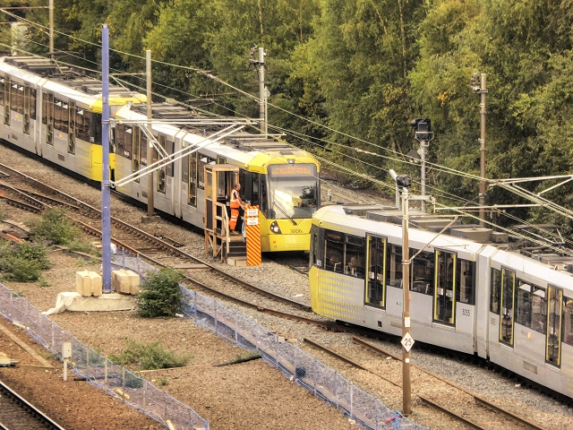 Metrolink Single-Line Working at Manchester Victoria