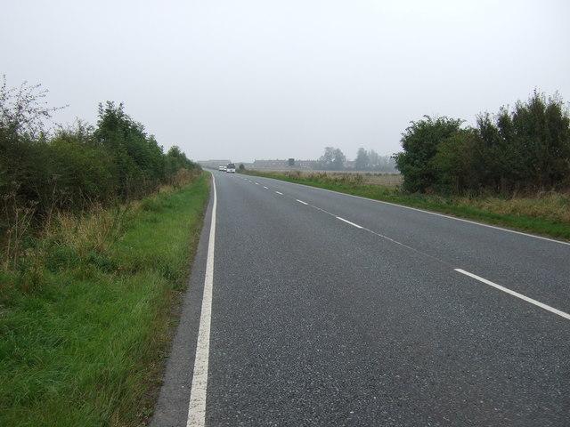 A614 towards Bridlington