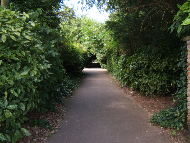 Path in Sewerby Hall gardens
