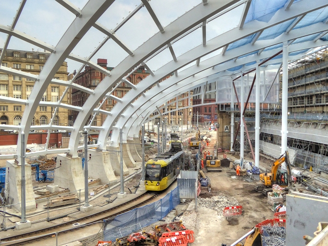 New Roof Construction, Manchester Victoria Station