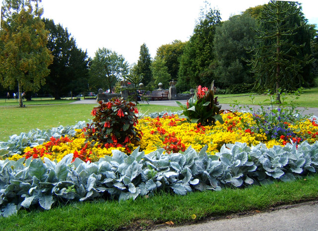 Summer bedding, Sewerby Hall gardens