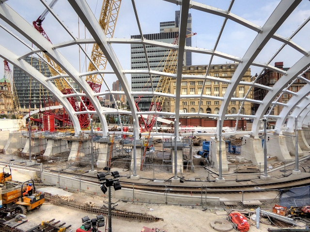 New Roof at Manchester Victoria Station