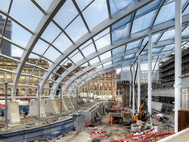 Manchester Victoria Station Redevelopment, New Roof
