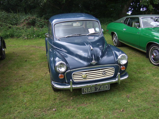 Morris Minor, Sewrby Hall