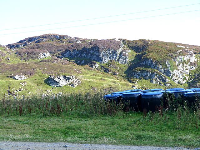 Rugged hills of north Colonsay