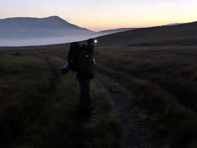 Walking out from Culra at about 06:15 am