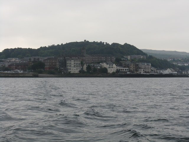Kempock Point from the Kilcreggan ferry