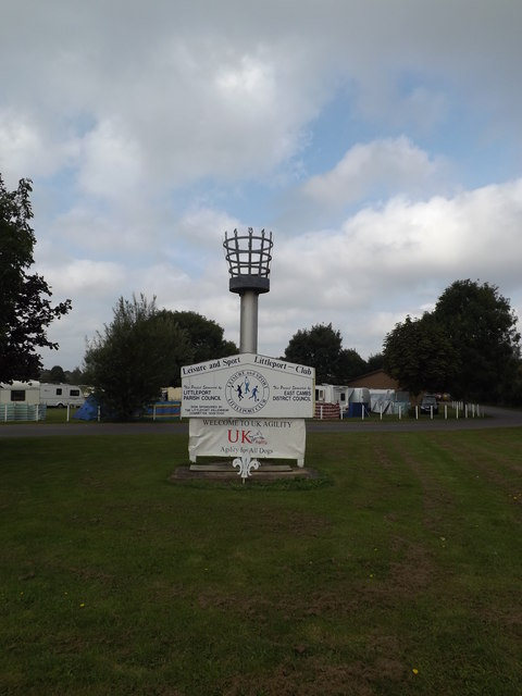 Littleport Sports And Leisure Centre sign & Beacon