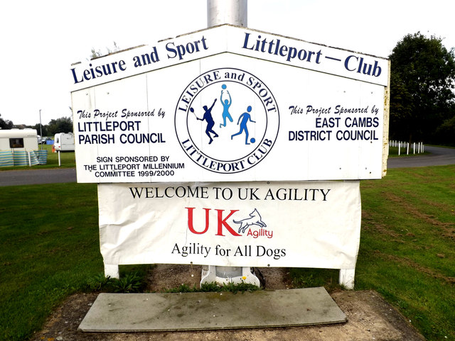 Littleport Sports And Leisure Centre sign