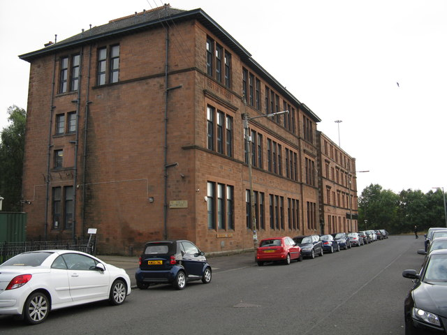 Govan School Board building, Cornwall Street