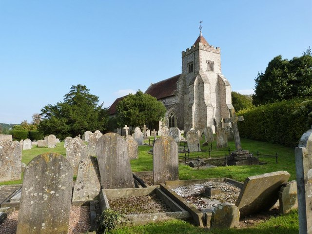 St Peter's church, West Firle, East Sussex
