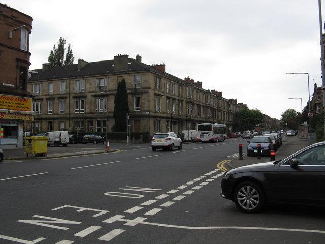 Paisley Road West at Blackburn Street