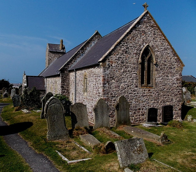St Mary the Virgin church in Rhossili