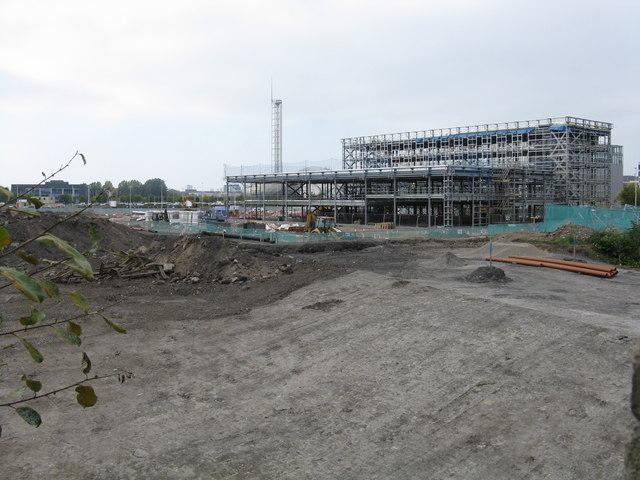 New construction at Festival Park