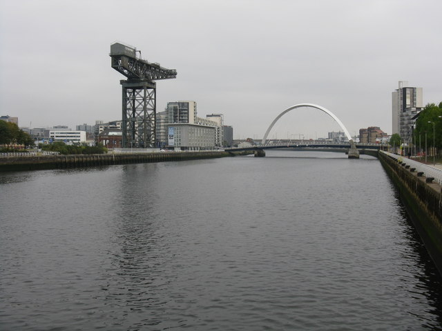 Finnieston Quay from Bells Bridge