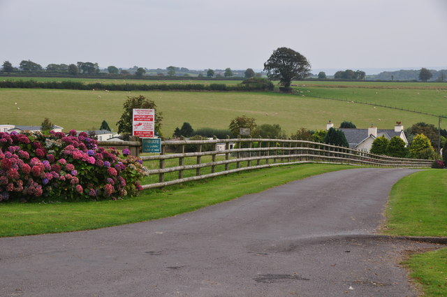 West Somerset : Farm Track