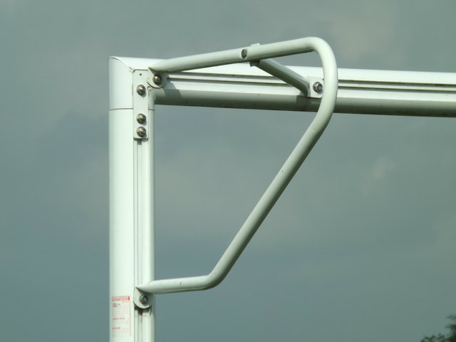 Football Goalpost Bracket at Littleport Sports And Leisure Centre