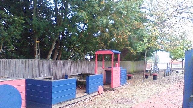 Train in Playground