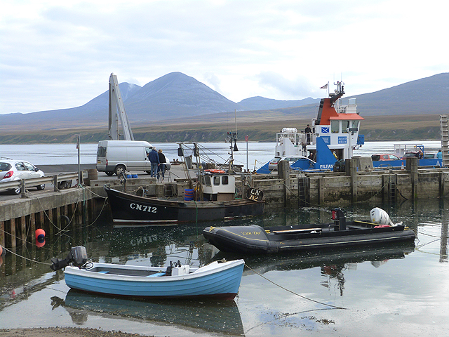 Port Askaig and the Jura ferry