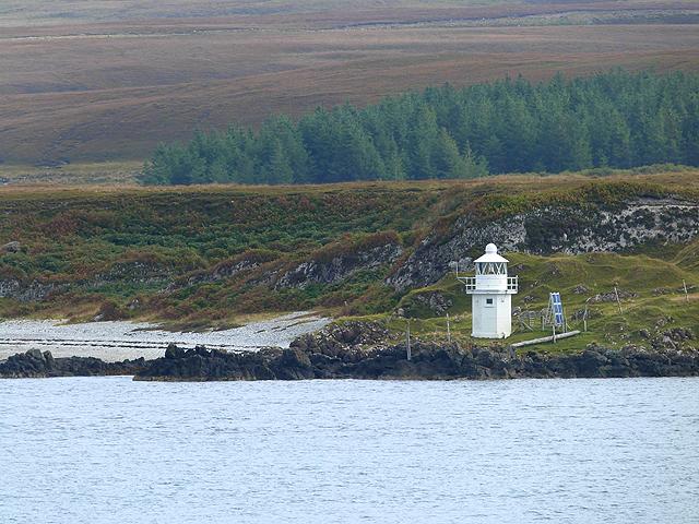 Lighthouse at Carragh an t-Sruith