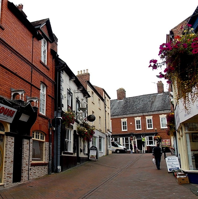Albion Hill, Oswestry