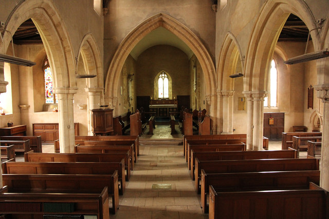 St.Michael and All Angels' nave