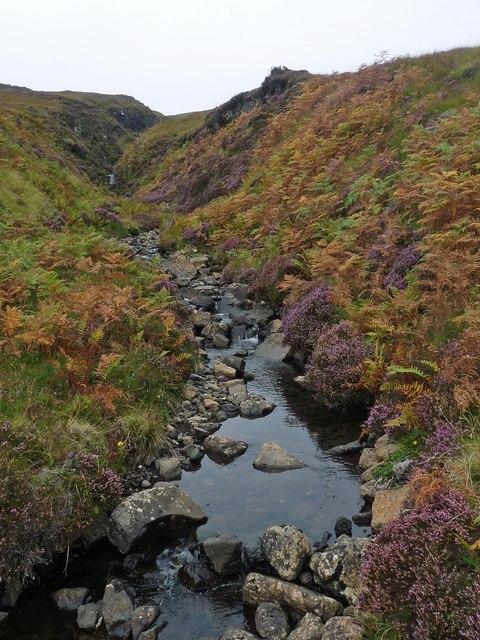 The Allt a'Choire Bhuidhe, Ardmeanach, Isle of Mull
