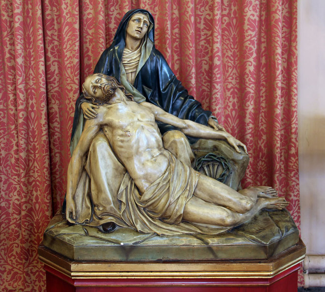 St Mary, High Street, Great Ilford - Pieta