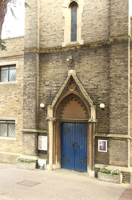 St Mary, High Street, Great Ilford - Doorway