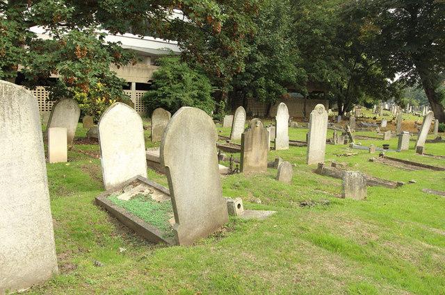 St Mary, High Street, Great Ilford - Churchyard