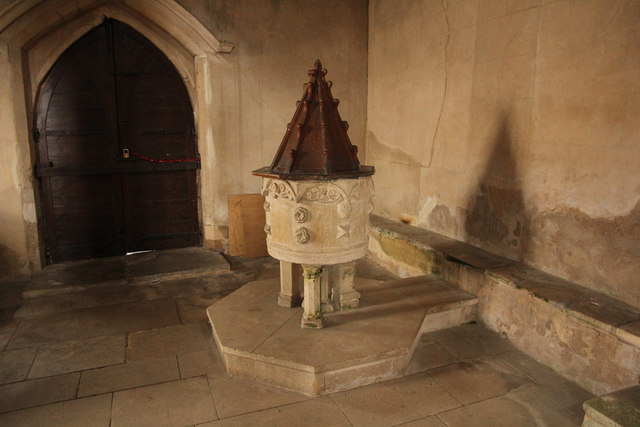 St.Michael and All Angels' font