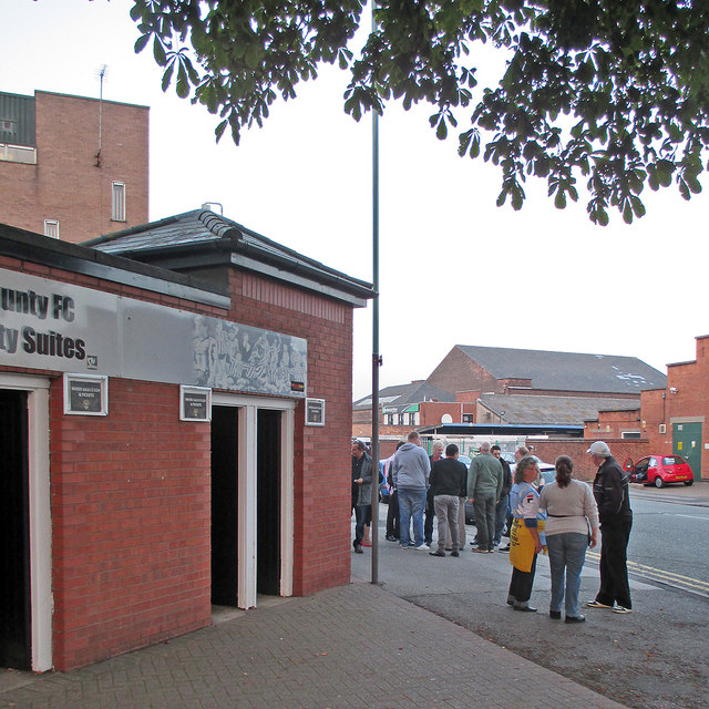 Meadow Lane: meeting before the match