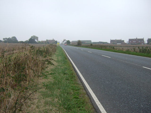 A614 towards Bridlington