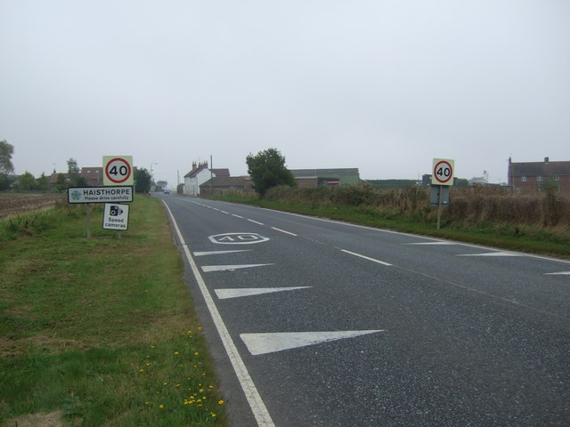 Entering Haisthorpe