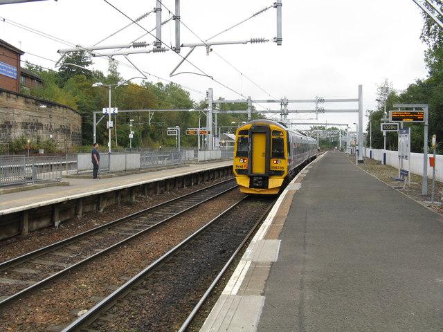 Springburn station, looking southeast
