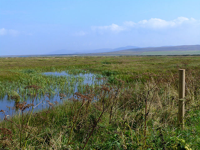 View from Taigh Deas hide, Gruinart RSPB Reserve