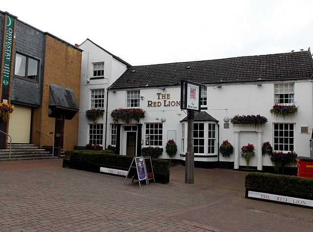 The Red Lion in Oswestry