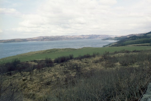 Rough ground and Loch Coalisport