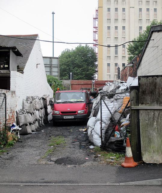 Medway Street: coal merchant's yard