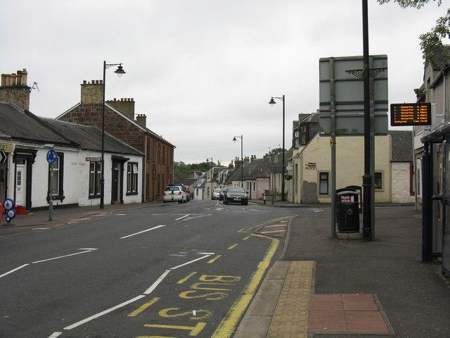 Kilmaurs - Townhead from Main Street