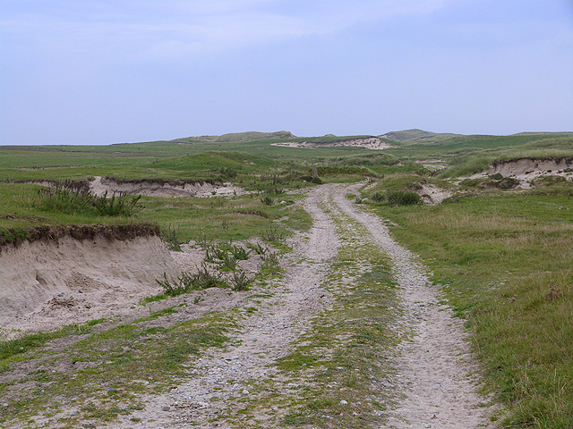 Sandy track on the Ardnave peninsula