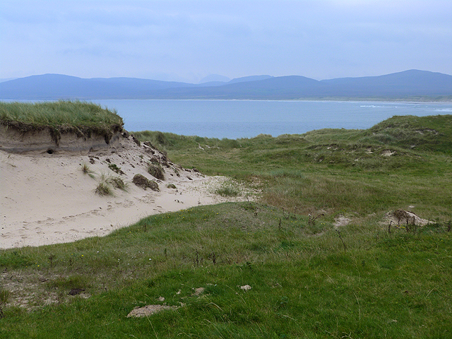 Old sand dunes on the Ardnave peninsula