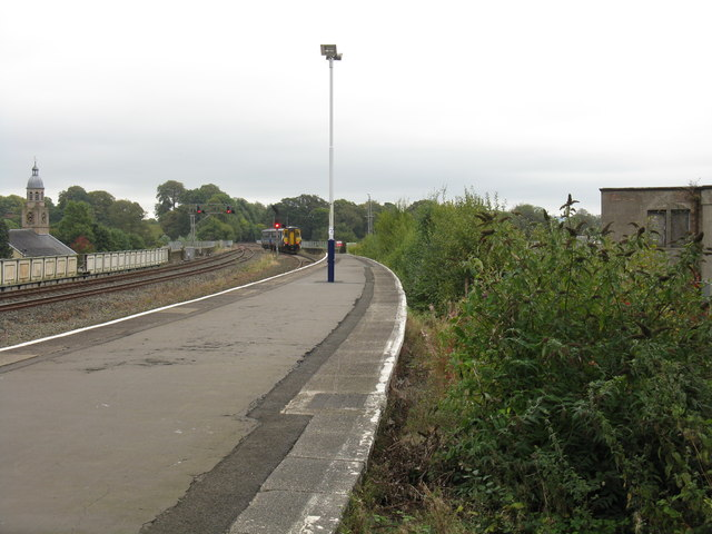 Leaving for the south, Kilmarnock station