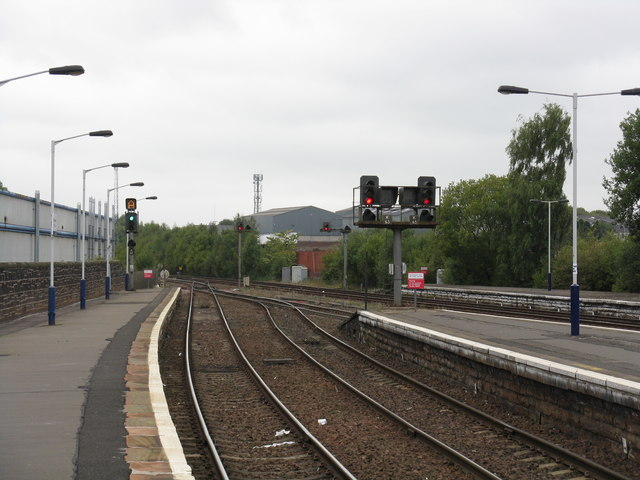 Kilmarnock station junction