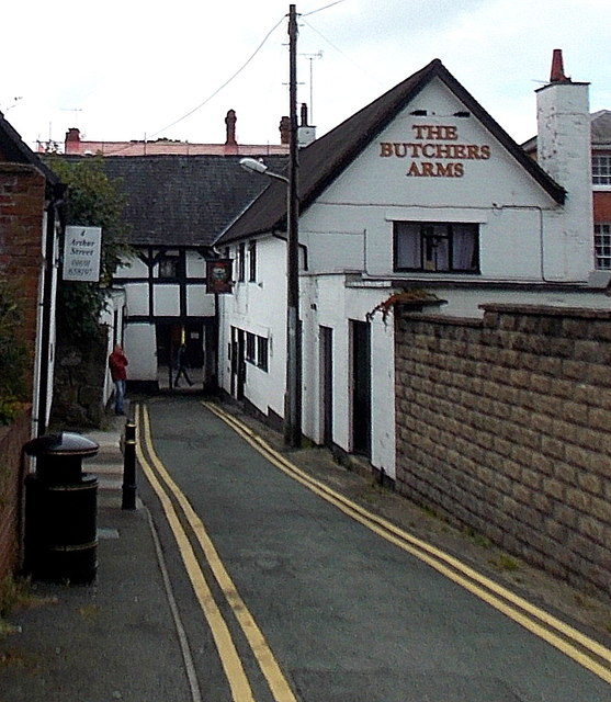 The Butchers Arms in Oswestry