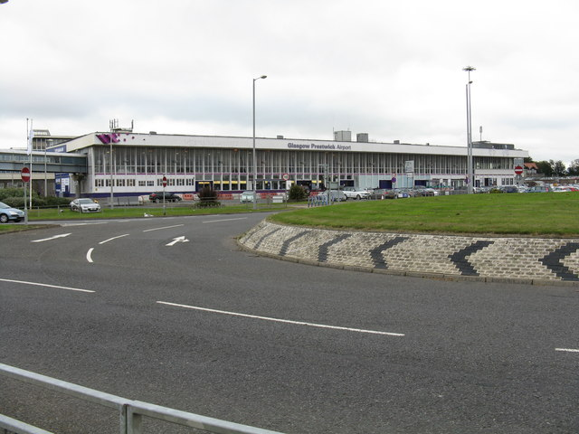 Main terminal, Prestwick Airport