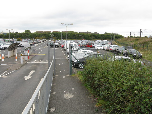 Long stay car park, Prestwick Airport