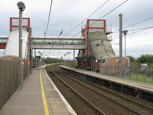 Prestwick Airport railway station