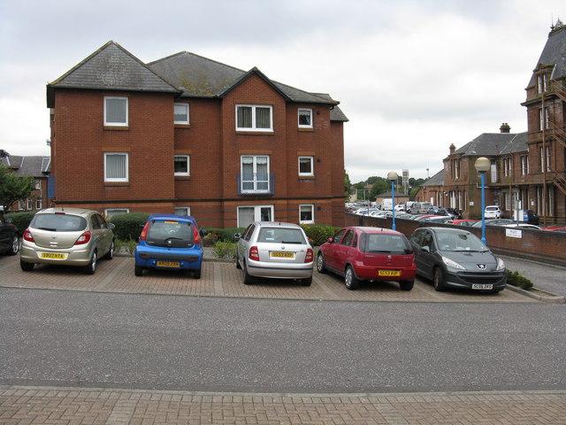 Apartments at Ayr station